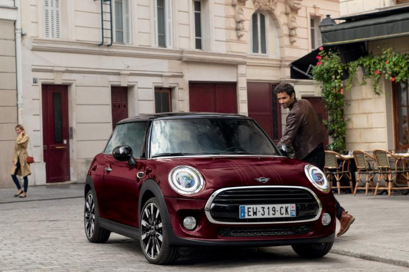 MINI EDITION LIMITEE PURE BURGUNDY.'